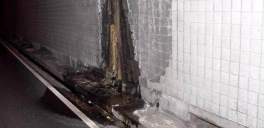 Water Ingress Damage to Tunnel Lining