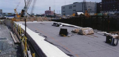 Installation of Waterproofing System on Top of Cut & Cover Tunnel