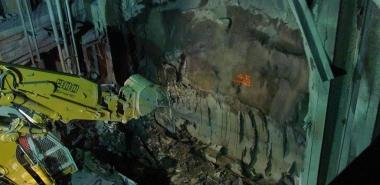 Excavation of Invert