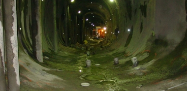 Shotcrete Tunnel completed
