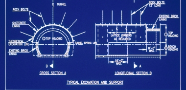 Dwg./ Cross Section and Longitudinal Section