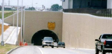 Tunnel beneath active Runways
