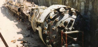 TBM before Start of Excavation