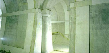 After Rehabilitation - The architectural Features shown were cast-in-place as Part of the Tunnel Final Lining