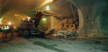 Excavation with Excavator