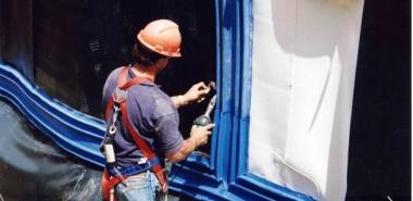 Welding Waterproofing Membrane and Water Barrier