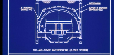 Waterproofing Drawing