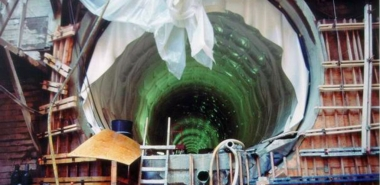Installation of Running Tunnel Waterproofing System