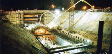 Construction of Cut & Cover Section