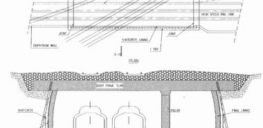 Doorframe Slab Cross Section and Plan