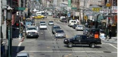 Chinatown, San Francisco Dense Urban Neighborhood