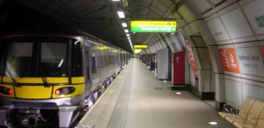 Finished Platform Heathrow Central Terminal
