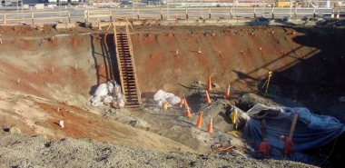 Excavation of Access Shaft