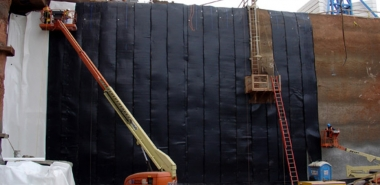 Fixing of Waterproofing Membrane
