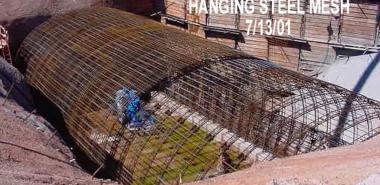Hanging Steel Mesh
