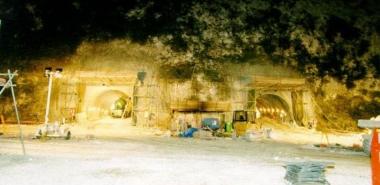 Tunnel Portals during Excavation